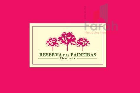 Terreno à venda, Cond. Reserva das Paineiras, Piracicaba.