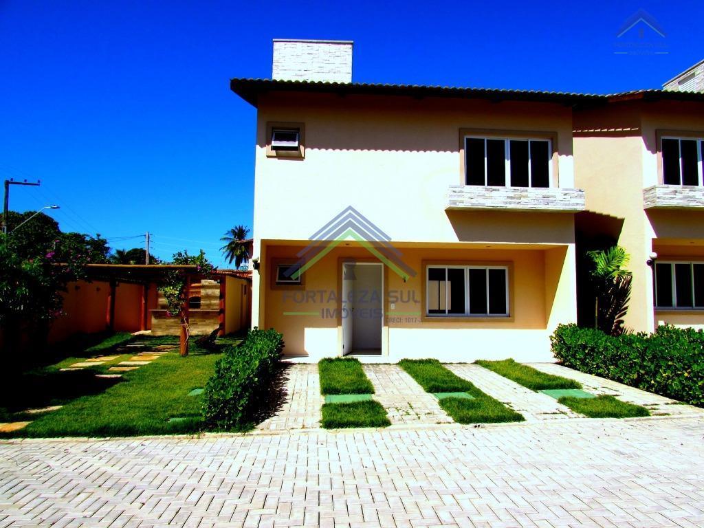 Casa residencial à venda, Centro, Eusébio - CA0488.