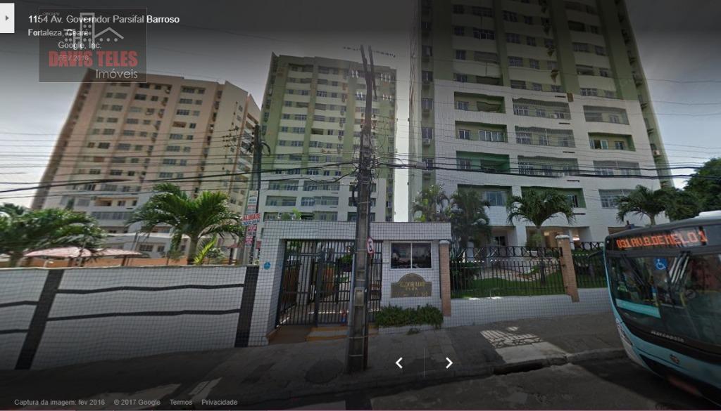 Apartamento residencial para locação, Presidente Kennedy com 3 quartos, Fortaleza.