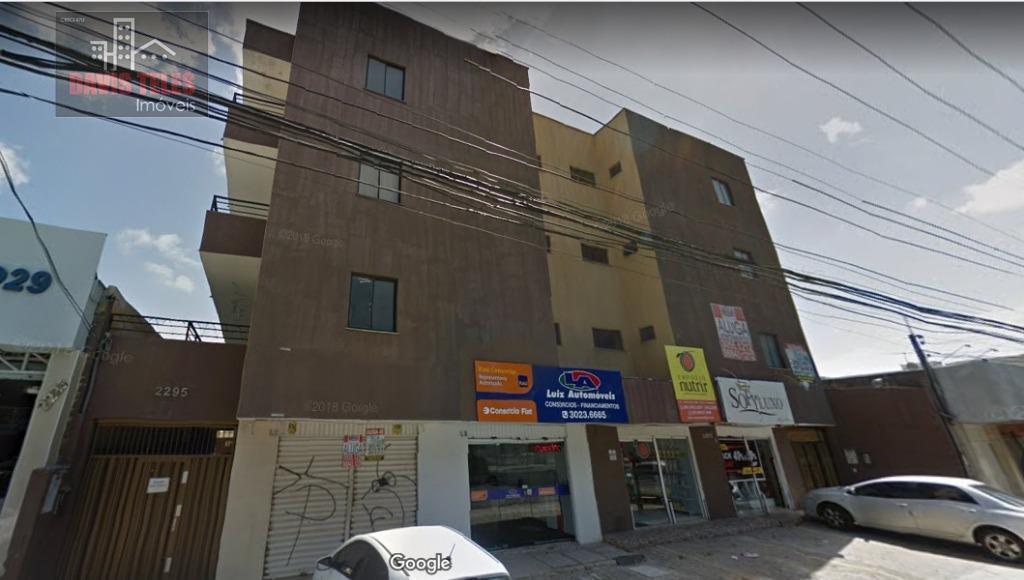 Apartamento locação, Parquelândia com 1 quarto, garagem, Fortaleza.