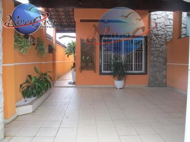 Casa residencial à venda, Vila Guilhermina, Praia Grande - CA1057.