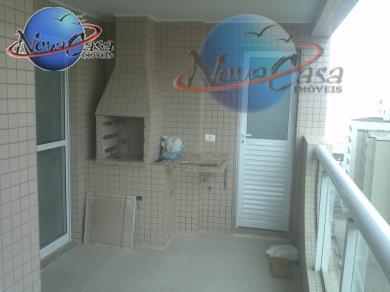 Apartamento residencial à venda, Campo da Aviação, Praia Grande - AP3320.