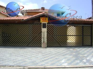 Casa residencial à venda, Jardim Imperador, Praia Grande - CA1064.