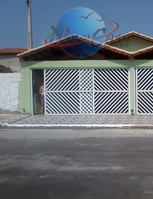 Casa residencial à venda, Balneário Maracanã, Praia Grande - CA1023.