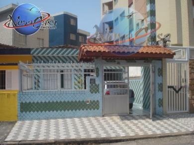 Casa residencial à venda, Vila Guilhermina, Praia Grande - CA1024.