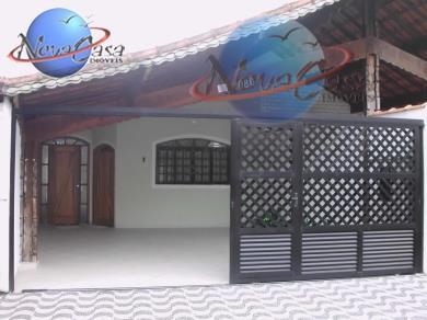 Casa residencial à venda, Campo da Aviação, Praia Grande - CA1048.