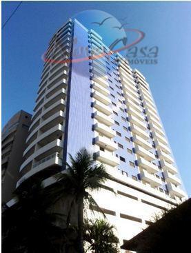 Apartamento residencial à venda, Vila Tupi, Praia Grande - AP3114.