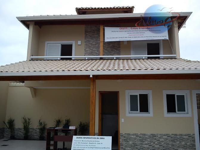 Casa  residencial à venda, Jardim Guaramar, Praia Grande.