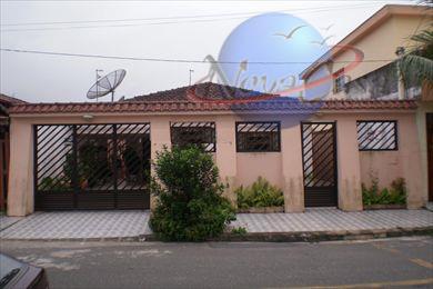 Casa Isolada, Vila Mirim, Praia Grande - CA0169.