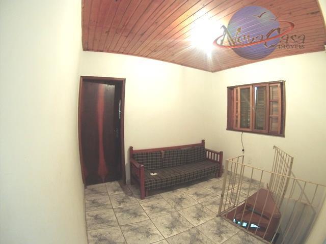 Casa 3 dormitórios, Vila Mirim, Praia Grande