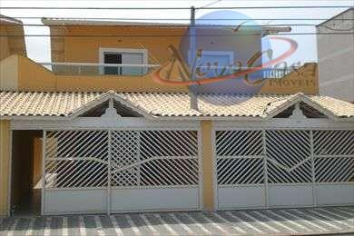 Casa 3 dormitórios, Vila Guilhermina, Praia Grande