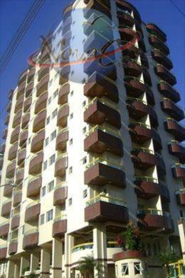 Apartamento 2 dormitórios com suite e piscina, Ocian, Praia Grande