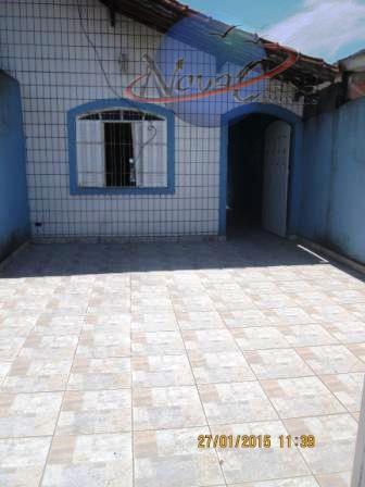 Casa 2 dormitórios, Vila Mirim, Praia Grande - CA3073.