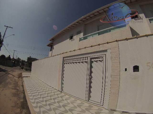 Sobrado 3 Dormitórios, Vila Caiçara, Praia Grande