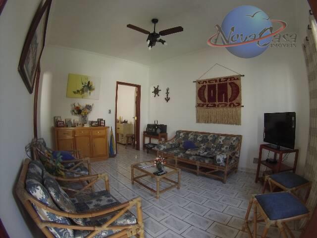 Casa 3 Dormitórios Isolada, Vila Caiçara, Praia Grande