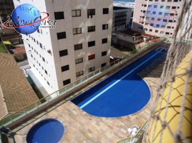Apartamento 1 dormitório, Campo da Aviação, Praia Grande