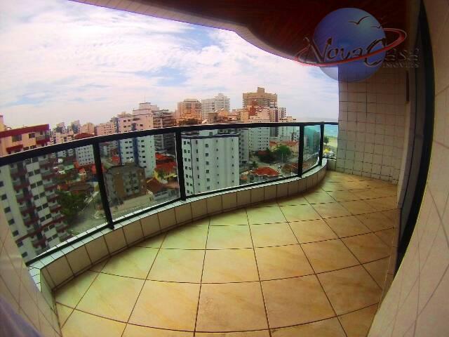 Cobertura 3 dormitórios, Cidade Ocian, Praia Grande