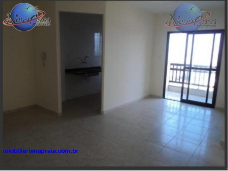 Apartamento 2 dormitórios, Vila Caiçara, Praia Grande - AP0851.