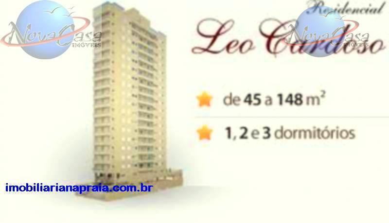Apartamento 3 dormitórios, Campo da Aviação, Praia Grande - AP0985.