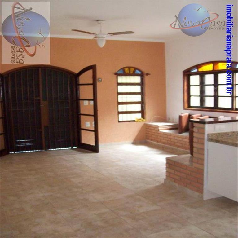 Casa 2 dormitórios, Vila Caiçara na Praia Grande