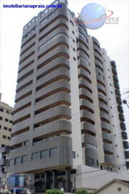 Apartamento 3 dormitórios, Vila Guilhermina, Praia Grande