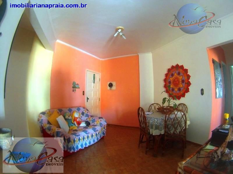 Apartamento 2 dormitórios, Vila Guilhermina, Praia Grande