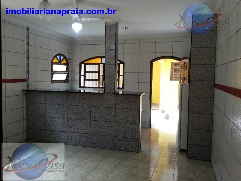 Casa 2 dormitórios, Balneário Maracanã, Praia Grande
