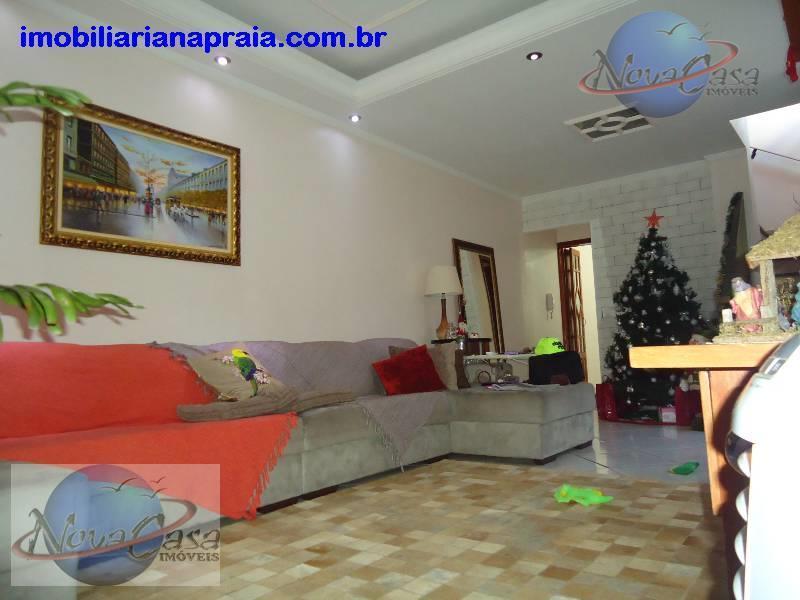 Sobrado 3 Dormitórios, Vila Guilhermina, Praia Grande