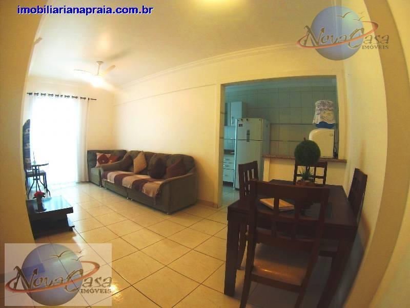 Apartamento 2 dormitórios Vila Guilhermina, Praia Grande.