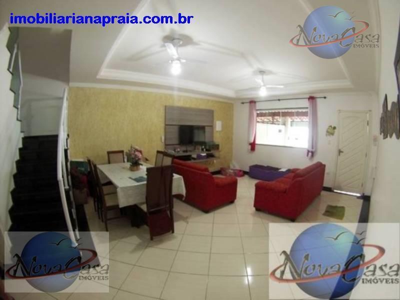Sobrado 3 Dormitórios, Balneário Maracanã, Praia Grande