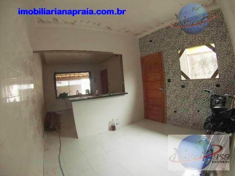 Casa 2 Dormitórios, Balneário Maracanã, Praia Grande.