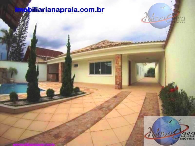 Casa Isolada 3 Suítes, Piscina e Churrasqueira, Flórida, Praia Grande