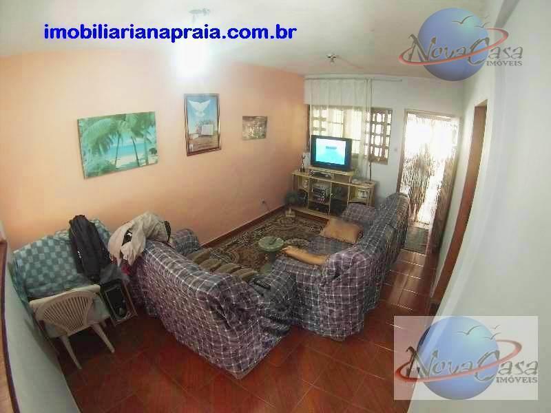 Casa Isolada 3 Dormitórios lado praia com edicula, Mirim, Praia Grande.