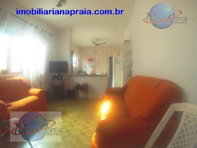 Casa 2 dormitórios 200 mts da praia Vila Mirim, Praia Grande.