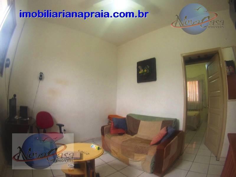 Casa  1 Dormitório Vila Guilhermina, Praia Grande.