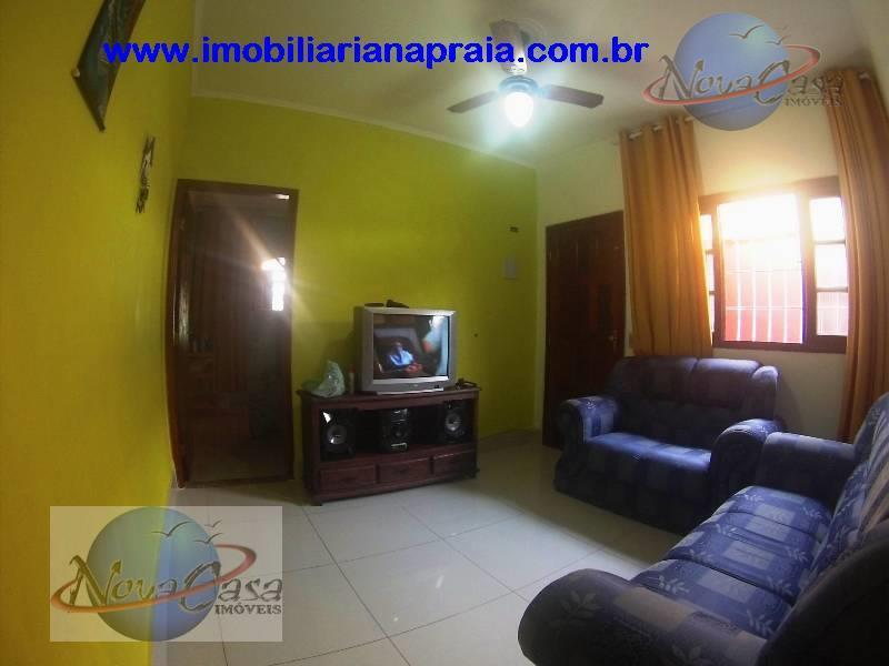 Casa  2 dormitórios com suite, Vila Mirim, Praia Grande.