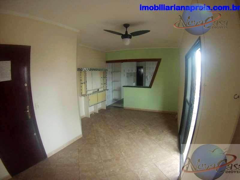 Apartamento 1 Dormitório, Vila Guilhermina, Praia Grande.