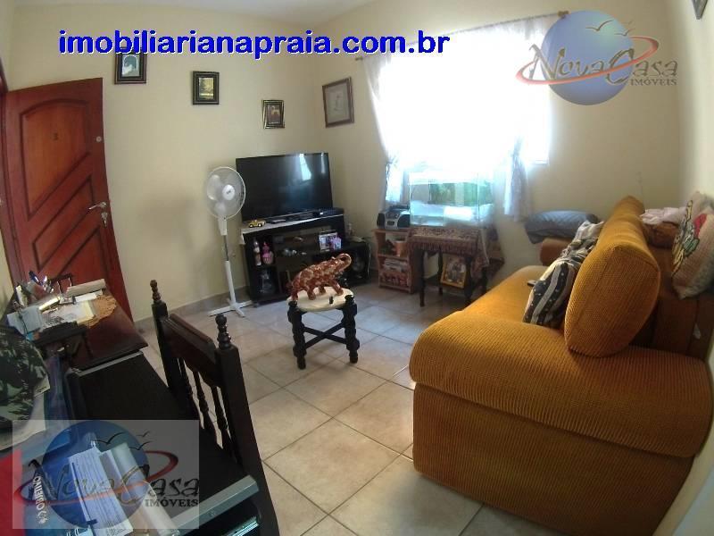Apartamento 1 Dormitório, Vila Caiçara, Praia Grande.