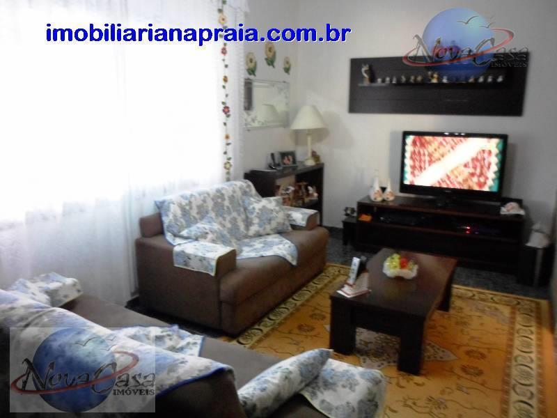 Casa 3 Dormitórios, Vila Mirim, Praia Grande.