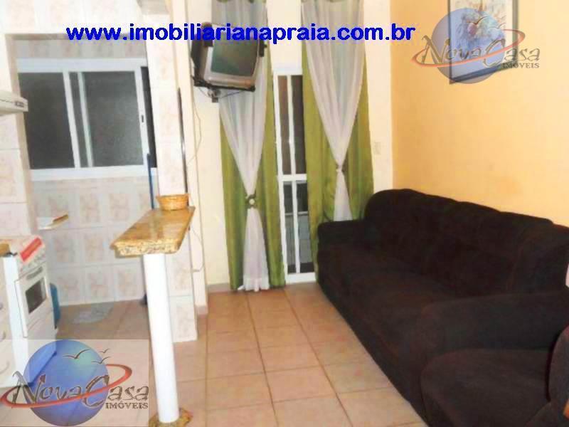 Apartamento 1 Dormitório, Vila Mirim, Praia Grande.