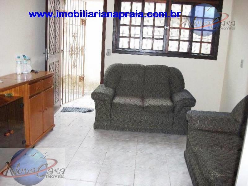 Casa 2 Dormitórios em condomínio fechado, Balneário Maracanã, Praia Grande.