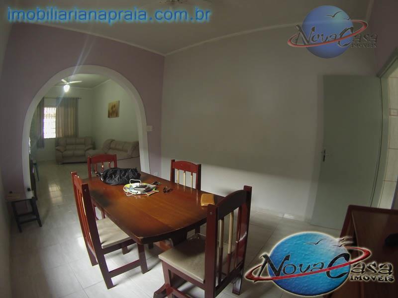 Casa 3 Dormitórios, Suite e Churrasqueira, Praia Grande - CA1013.
