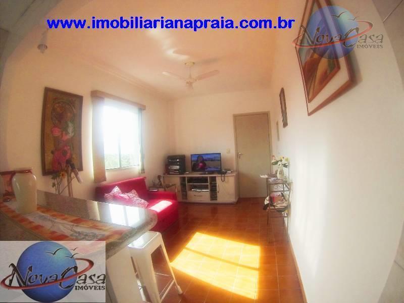 Apartamento 1 Dormitório, Balneário Maracanã, Praia Grande.