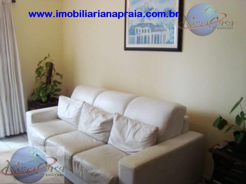 Apartamento 3 Dormitórios com Sacada, Campo da Aviação, Praia Grande.