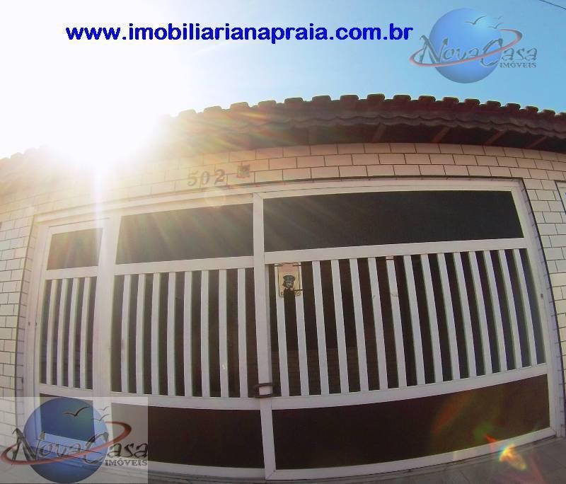Sobrado 2 Dormitórios suite e churrasqueira, Caiçara, Praia Grande.