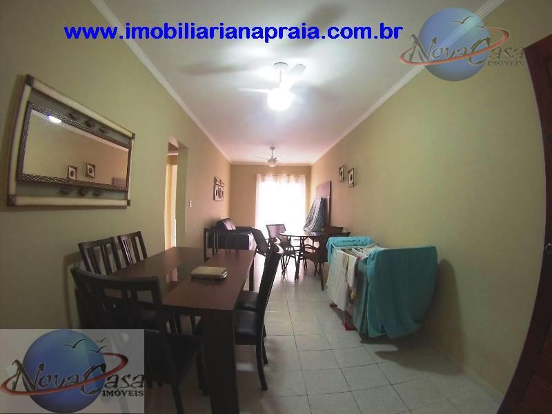 Apartamento 2 Dormitórios maravilhosa sacada, Cidade Ocian, Praia Grande.