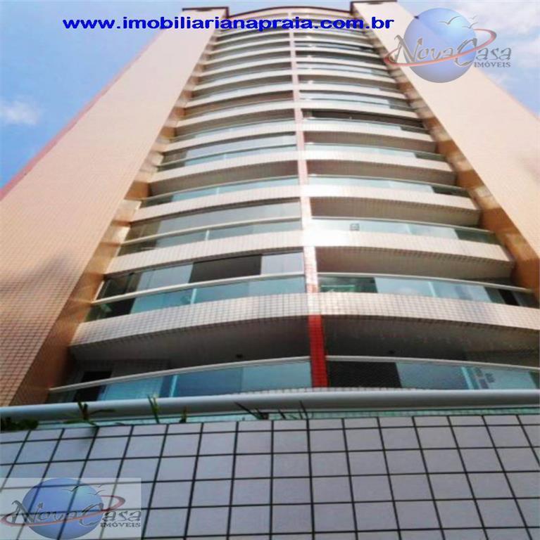 Apartamento 3 Dormitórios com sacada, Canto do Forte, Praia Grande.