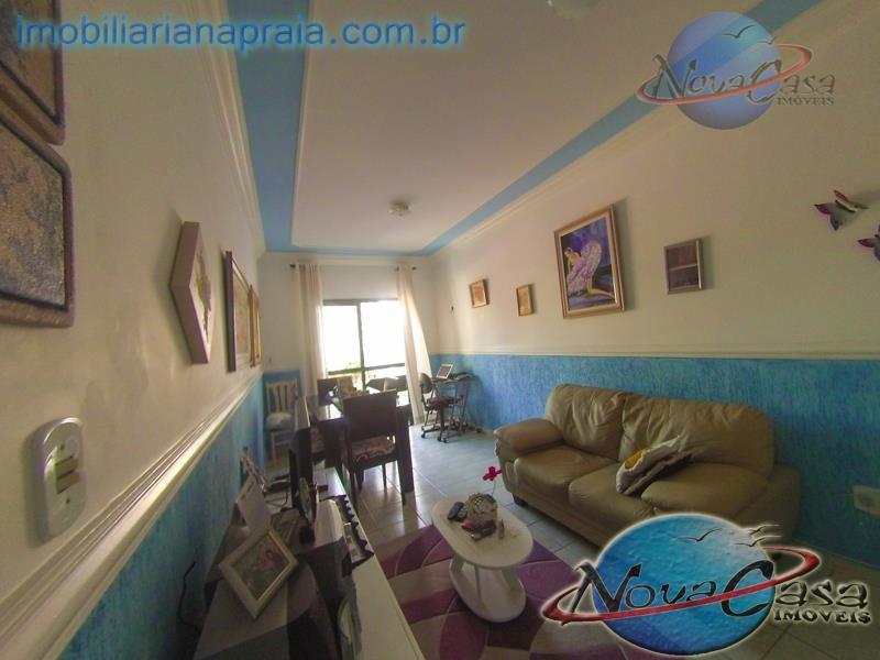 Apartamento 1 Dormitório com sacada, Caiçara, Praia Grande.