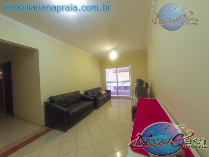 Apartamento 2 Dormitórios com Varanda Gourmet, Campo da Aviação, Praia Grande.