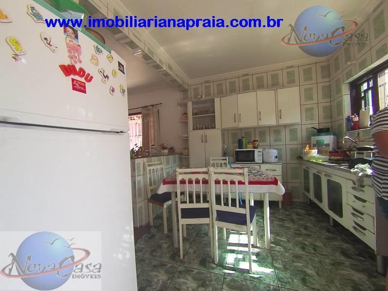 imobiliária na praia - casa isolada com 3 dormitórios para você e sua família desfrutarem da...